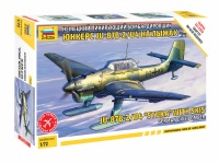 Junkers Ju 87B-2/U4 - Stuka with Skies - German Dive Bomber - 1/72