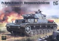 Panzerkampfwagen IV Ausf. F1 - Vorpanzer & Schürzen - 3in1 - 1:35