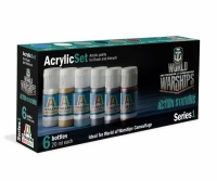 Italeri Acrylic Color Set World of Warships