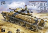 Crusader Mk.III - British Cruiser Tank Mk. IV - 1:35