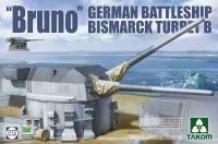 BRUNO - German Battle Ship Bismarck Turret B - 1/72