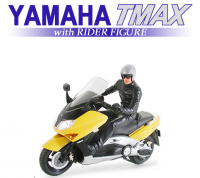 Yamaha TMAX with Rider Figure - 1/24