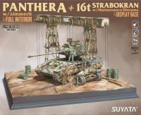 Panther Ausf. A + 16t Strabokran + Diorama Base - 1:48
