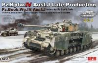 Panzerkampfwagen IV Ausf. J - Late Production / Pz. Beob. Wg. IV - 1/35