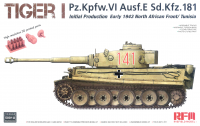 Panzerkampfwagen Tiger I Ausf. E - Initial Production - Early 1943 - North Africa / Tunisia - 1/35