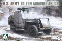 US Army 1/4 ton Armored Truck - 1/35