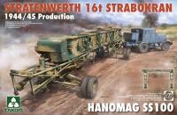 Stratenwarth 16t Strabokran 1944/45 + Hanomag SS 100 - 1/35
