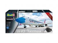 Boeing 747-8F - Cargolux - LX-VCF - Fasemask - Limited Edition - 1:144