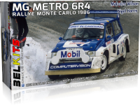 MG Metro 6R4 - Rallye Monte Carlo 1986 - 1:24
