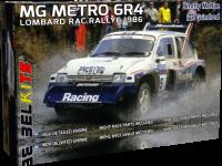 MG Metro 6R4 - Lombard RAC Rallye 1986 - 1:24