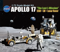Apollo 17 - The Last J-Mission - CSM + LM + Lunar Rover - 1:72