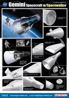 Gemini Spacecraft - with Spacewalker - 1/72