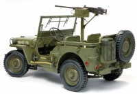 US 1/4 Ton 4x4 Truck with .50 cal Machine Gun - Willys MB - 1/6