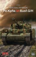 Panzerkampfwagen IV Ausf. G / H - 2in1 - with full Interior - 1/35