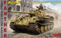 Panzerkampfwagen Panther Ausf. F - KwK 42/L70 & KwK 42/L100 - 1/35