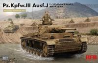 Panzerkampfwagen III Ausf. J - with full Interior - 1/35