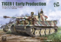 Panzerkampfwagen Tiger I Ausf. E - Early Production - July - August 1943 - Kursk - 1/35