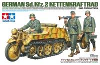 German Sd.Kfz.2 Kettenkraftrad - Mid-Production - 1/35
