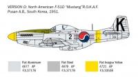 North American F-51D Mustang - Korean War - 1/72