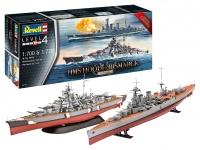 HMS HOOD vs. BISMARCK - 80th Anniversary - 1/700 & 1/720