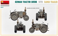 D8506 Tractor with Cargo Trailer - 1/35