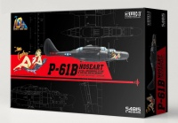 P-61B Noseart with full underwing store & special metal weight - 1/48