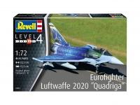 Eurofighter - Lufwaffe 2020 - Quadriga - 1/72