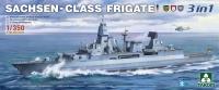 Sachsen Class Frigate - 3in1 - 1/350