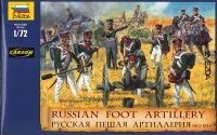 Russian Foot Artillery - 1812 - 1815 - 1/72