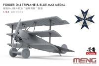 Fokker Dr.I Triplane - 1/24 & Blue Max / Pour le Mérite - Limited Edition - 1/24