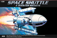 Space Shuttle and Booster - 1/288