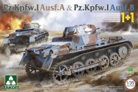 Panzerkampfwagen I Ausf. A & Panzerkampfwagen I Ausf. B - 1+1 - 1/35