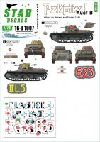 Panzer I - Ausf. B - Norway & France - Decal Set - 1/16