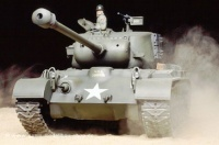 1:16 U.S. Medium Tank M26 Pershing (T26E3) RC Full Option Kit