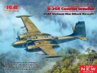 B-26K Counter Invader - USAF Vietnam War Attack Aircraft - 1/48