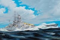 German Kriegsmarine Battleship Gneisenau - 1/200