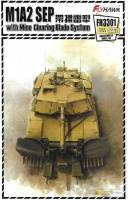 M1A2 SEP Abrams - with Mine Clearing Blade System - 1/72