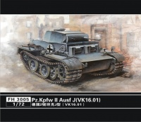 Panzerkampfwagen I Ausf. J (VK16.01) - 1/72