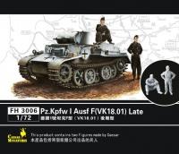 Panzerkampfwagen I Ausf. F (VK18.01) - late - 1/72