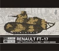 FT-17 Light Tank - Riveted Turret - 1+1 - 1:72