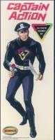 Captain Action - Figure - Vintage - 1/8