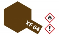 Tamiya XF64 - Red Brown - Flat