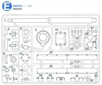 E Parts (E1-E33) for Tamiya Tiger I (56010) 1:16