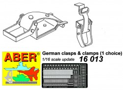 German clamps and clasps - early type