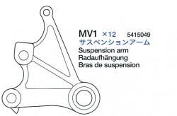 Radaufhängung (MV1 x1) für Tamiya Sherman Serie 56014, 56032