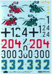 Abziehbilder für Tamiya Königstiger (56018) 1:16