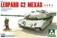 Leopard C2 Mexas - Kanadischer Hauptkampfpanzer - 1:35
