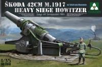 Skoda 42cm M.1917 - 42cm Haubitze (t) - Belagerung von Sevastopol 1942 - 1:35