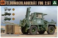 Bundeswehr Feldumschlaggerät FUG 2,5t - 1:35