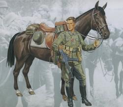 Deutsche Wehrmacht Kavallerie - 1:16